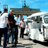 Et nyt og sjovt transportmiddel har indtaget Berlin.