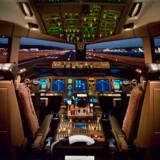 """Her er det en Boeing 777-200LR, som var på vingerne i 2005. LR står for """"long range"""", lang rækkevidde."""