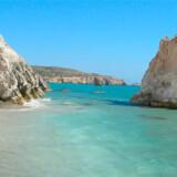 Rejs på egen hånd til den græske ø Milos og hold en billig ferie, hvor du kan opleve Milos' mange smukke strande.