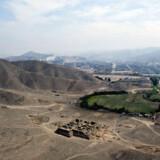 El-Paraiso ruinerne i Peru før Bulldozeren satte ind.