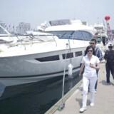 Bådudstillingen Qingdao er et af de steder, hvor Kinas velhavere kan brænde noget af den nyvundne formue af.