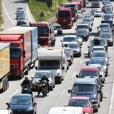 Med omfattende vejarbejde omkring Hamburg er der udsigt til denne situation på A7.
