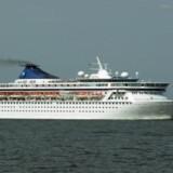 Det skæbnesvangre uheld, som har udløst en erstatning på 50 millioner kroner, skete på krydstogtskibet Norwegian Crown. Skibet sejler ikke længere - dog ikke på grund af denne sag.