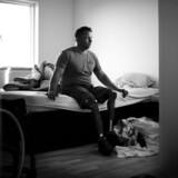 Mark Peters mistede begge ben i krigen i Afghanistan, hvor han var udsendt som soldat.