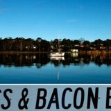 """""""Eggs and bacon Bay"""", som bugten på billedet hedder, er blandt de mere spiselige navne."""