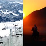 Vil du være sikker på en jul med enten kulde eller varme? Her er tre steder med udsigt til sne eller til sved på panden.