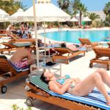 Tyrkiet, Bulgarien, Egypten og Tunesien er populære ferielande, hvor rejsen typisk er op til 15 pct. billigere. Billedet er fra den tunesiske ø Djerba.