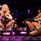 Listen er udarbejdet af Hotels.com i anledning af Madonnas »Sticky and Sweet Tour«, der blandt andet gæster Parken i København 11. august.