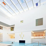 Den nye tilbygning til Skodsborg Kurhotel & Spa er tegnet af Henning Larsen Architects og åbnede her i februar.