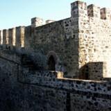 Grænsebyen Elvas og dens fæstningsværk i Portugal.