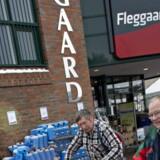 Grænsehandel hos - Fleggaard i Harrislee onsdag den 13. marts.