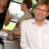 Ole Simonsen forlader efter 11 år på posten direktørstolen i det nu kapitalfondsejede Stofa. Arkivfoto: Stofa