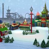Tivolis egen visualisering af, hvordan det russiske juleområde på Plænen kommer til at se ud.