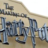 Studiet, hvor det meste af Harry Potter filmene er blevet optaget, er nu permanent åbent for publikum. Og er en populær turistattraktion. Foto: DANIEL DEME