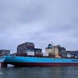 Containerforretningen er stadig en helt central del af Mærsk-koncernen.