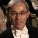 Den britisk-cypriotiske Nobel-prisvinderBritish-Cypriot Christopher Pissarides