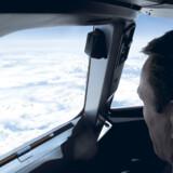 At få lov til at opleve flyveturen fra cockpittet er noget helt særligt.