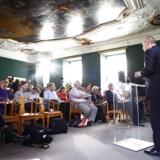 Finansminister Bjarne Corydon (S) præsenterer regeringens forslag til finanslov.