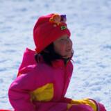 I legerummene på DFDS' både til Oslo kan børnene lege med sne - ligesom ude i den rigtige sne.