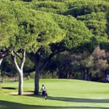 Golfbanen Quinta do Vale på Algarve-kysten.