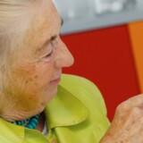 Store knapper. Få og enkle funktioner. Det skal sælge 40.000 mobiltelefoner særligt udviklet til ældre i Danmark alene i år.