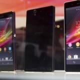 Stor er den - med en skærm på fem tommer bliver Sonys Xperia Z en af markedets største telefoner.