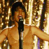 Whitney Houston i rollen som sanger Rachel Marron i filmen The Bodyguard fra 1992.