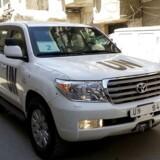 FN-inspektører er i Damaskus for at undersøge påstanden om, at Assads styrker har anvendt kemiske våben mod befolkningen i en forstad til den syriske hovedstad.