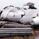 En flyulykke i Venezuela i september 2010. 21 af flyets 47 passagerer og besætningsmedlemmer overlevede.