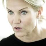 Helle Thorning-Schmidt, Danmarks statsminister. Fotograferet på Marienborg
