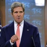 USAs udenrigsminister John Kerry (foto) har på vegne af præsident Barack Obamas administration reelt lanceret en slags krigserklæring, mener politiske iagttagere.