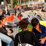 Plage Lumiere er den første røgfri strand i Frankrig.