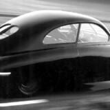 I 1947 vakte »flyvinge«-Saab'en international opsigt med sit vindtunnel-design.