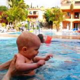 Vær sikker på, at der er en legeplads, opvarmet pool og opvarmet børnepool på hotellet.