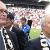 Parkens tidligere direktør Jørgen Glistrup og bestyrelsesformand Flemming Østergaard