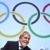 Brasiliens  præsident var med til at fremlægge Rios  bud  på værtsskabet.