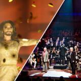 »... hende Conchita Wurst fra melodi Grand Prix har spist Danmarks fineste musikere,« siger debat og forfatter Knud Romer.
