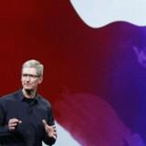 Apples brandværdi er 182,9 mia. dollar ifølge den årlige BrandZ-måling fra WPP og MillwardBrown
