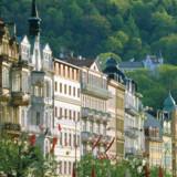 Byen Karlovy Vary er kendt for sine mange spaer.