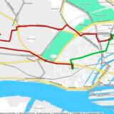 I testen blev der kørt i alt 220 ture. I 82 tilfælde blev der kørt omveje, og særligt på de korte ture om natten valgte taxachaufførerne længere ruter.