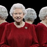 epa04912827 (FILE) A handout image provided by the British Royal Household on 02 August 2015 shows a quadruple half-length portrait of Britain's Queen Elizabeth II taken by British photographer Hugo Rittson Thomas on 01 May 2015 with a technique that involves the use of mirrors to show each sitter from all four sides (front, back and both profiles). Queen Elizabeth II will become the longest ever reigning monarch in British history on 09 September 2015, passing the record set by her great great grandmother Queen Victoria, who reigned 63 years and seven months. EPA/HUGO RITTSON THOMAS / ROYAL HOUSEHOLD / HANDOUT HANDOUT EDITORIAL USE ONLY/NO SALES