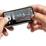 Nokias nye musiktelefon N81, som lanceres samtidig med Nokias modstykke til Apples iTunes, Ovi.