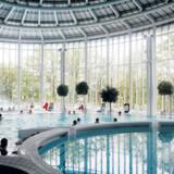 Thermes de Spa ligger ved belgiske Spa, hvorfra navnet for denne form for wellness kommer fra.