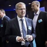 »Vi vil have de største skibe og lavest omkostninger. Så vil vi have de bedste produkter (...)« siger Søren Skou, direktør for Maersk Line (i midten). Her ses han til sidste års Capital Markets Day.