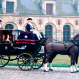 """På Chateau Vaux-le-Vicomte holdte den amerikanske skuespiller Eva Longoria fra den populære serie """"Desperate housewives"""" og basketspiller Tony Parker fra San Antonio Spurs brullup."""