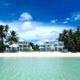 Klart tyrkisfarvet vand, en kridhvid strand og en blå himmel over det hele. Det lille eksklusive boutique-hotel Villa Nalinadda på thailandske Koh Samui ligger i de helt perfekte omgivelser for en romantisk ferie for to.