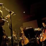 Tina Dickow og DR UnderholdningsOrkestret fra Koncerthuset i 2011. En dokumentar om koncerten blev sendt på DR K 1. marts. Foto:Agnete Schlichtkrull