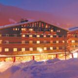 La Marmotte er ikke et anonymt kædehotel – specielt lobbyen har meget karakter.