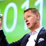 Ericsson-topchefen Hans Vesterberg. Virskomheden er verdens største netværksleverandør.