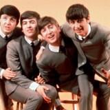 The Beatles. Paul McCartney, George Harrison, John Lennon og Ringo Starr. Udateret arkivfoto.